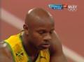 奥运视频-鲍威尔起跑用力过猛 博尔特超越摘金