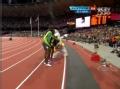 奥运视频-文洛克赛后搞怪 模仿博尔特招牌动作