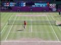 奥运视频-费德勒上网截击对角线 男网单打决赛