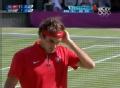 奥运视频-费德勒下旋球攻外底角 男网单打决赛