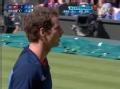 奥运视频-费德勒侧身回球憾出界 男网单打决赛