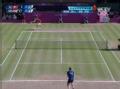 奥运视频-穆雷正手抽击斜线 男网穆雷VS费德勒