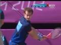 奥运视频-穆雷双手反拍猛攻死角 男网单打决赛