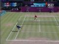 奥运视频-双方多拍攻守转换 穆雷反拍穿越对角