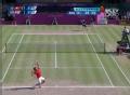 奥运视频-费德勒发精准压线ACE球 男网单打决赛