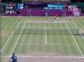 奥运视频-双方底线多拍拉锯 穆雷反拍回球挂网