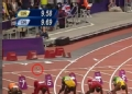 奥运视频-醉汉向赛道扔酒瓶 赛后被柔道女暴打