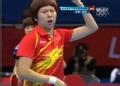 奥运视频-李晓霞发球巧得分 乒乓球中国VS韩国