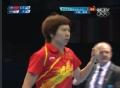 奥运视频-李晓霞11-6先下一局 女乒中国VS韩国