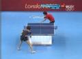 奥运视频-李晓霞反手拉对角 乒乓球中国VS韩国