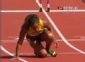 奥运视频-老将布里吉特撞栏失误 摔地怒吼哭泣