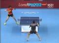 奥运视频-丁宁突发力拉斜线得手 中国VS韩国