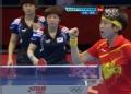 奥运视频-李晓霞正手强拉成功 女团中国VS韩国