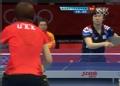 奥运视频-郭跃反手拉对角得分 女团中国VS韩国