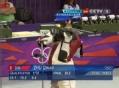 奥运视频-朱启南第三枪打9.4 男子50米步枪3资