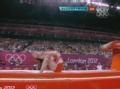 奥运视频-托马斯第二跳落地失误 男子跳马决赛