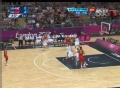 奥运视频-王仕鹏开场飙精准3分 男篮中国VS英国