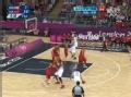 奥运视频-莱恩金右翼三分命中 男篮中国VS英国