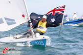 奥运图:帆板男子决赛 澳大利亚夺金