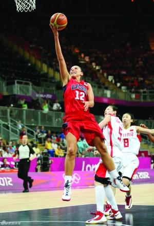 美国女篮实力超群