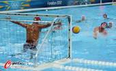 奥运图:美国水球不敌匈牙利 守门员