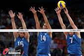 奥运图:阿根廷男排零封英国 三人拦网