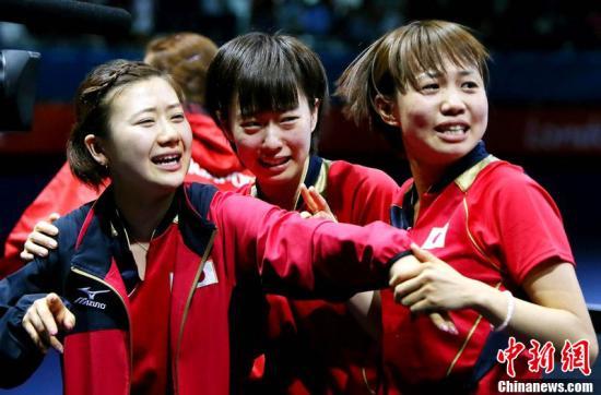 乒乓球女团决赛:中国队摆正心态 日本已创造历史