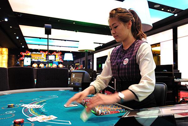 韩国赌场里的美女们图片