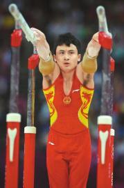 冯喆的双杠是世界最高难度。