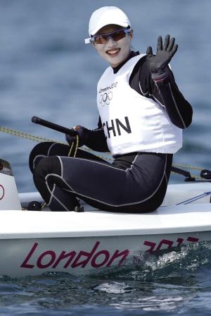 北京时间8月6日,伦敦奥运会帆船比赛进入第9个比赛日。在激光雷迪尔级女子单人艇奖牌赛中,中国选手徐莉佳排名第一夺冠,这是中国选手在帆船帆板项目上的第二枚奥运会金牌。