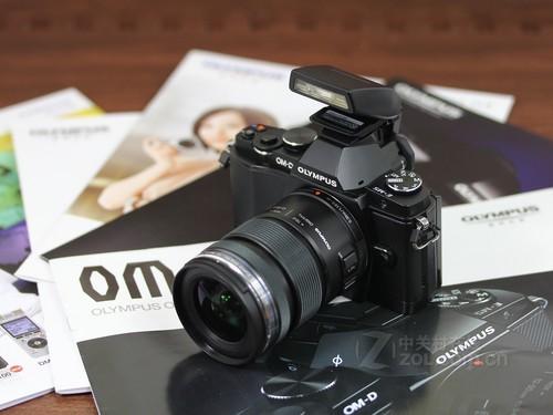 奥林巴斯 E-M5黑色 外观图