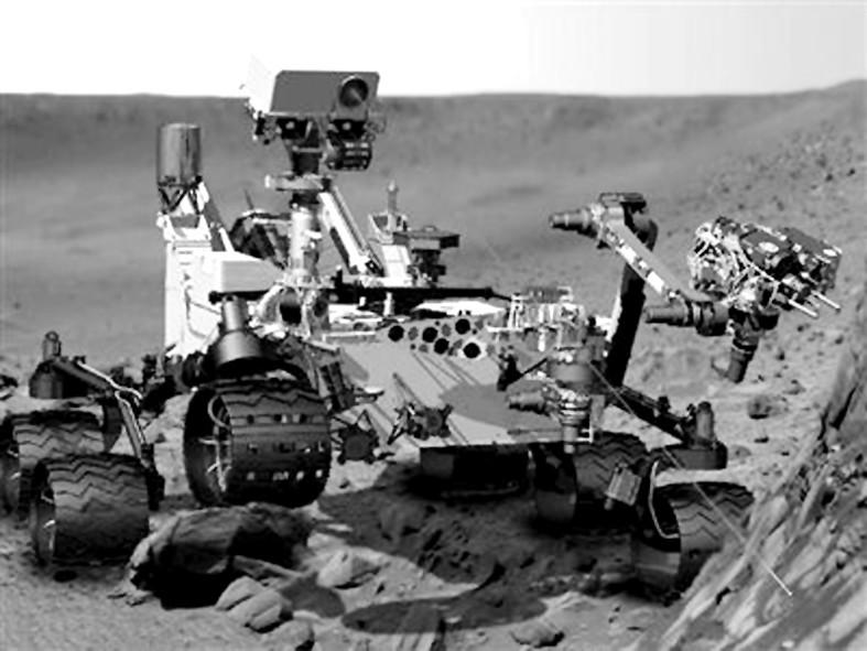 美好奇号核能火星车成功登陆火星(组图)