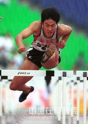 01 2001年全国田径锦标赛夺个人首冠
