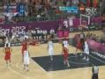 奥运视频-王仕鹏外线假动作 晃起对手搏3次罚球