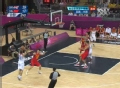 奥运视频-莱恩金外线飙精准3分 男篮中国VS英国
