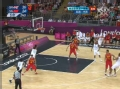 奥运视频-阿卡拉弧顶三分命中 男篮中国VS英国