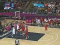 奥运视频-张兆旭内线只手遮天 篮下怒盖约翰逊
