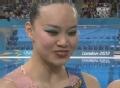 奥运视频-花游双人自由自选赛 中国组合排第二