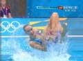 奥运视频-韩国队显朝气活力 花样游泳双人决赛
