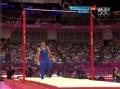 奥运视频-美选手首先出场 莱瓦精彩单杠获高分