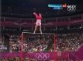 奥运视频-加里波夫失连接分虚摆 男子单杠决赛