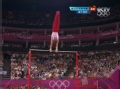 奥运视频-美国选手霍顿获15.466 男子单杠决赛
