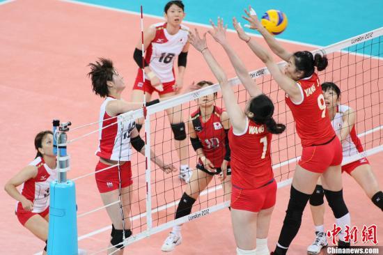当地时间8月7日,2012年伦敦奥运女排14决赛,中国2-3不敌日本无缘四强。Osports全体育图片社