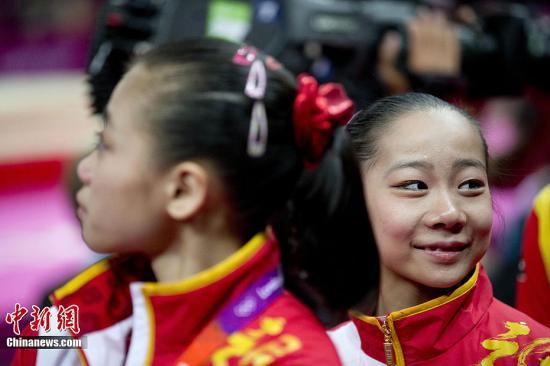 平衡木双姝摘金 中国体操女队走出团体落败阴影