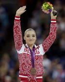 奥运图:自由体操莱斯曼夺冠 俄罗斯选手