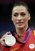 奥运图:自由体操莱斯曼夺冠 银牌获得者