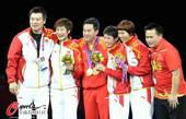奥运图:中国女乒团体成功卫冕 团体的胜利