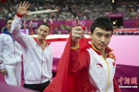 """中国体操队夺4金 打破奥运""""一届好、一届差""""魔咒"""
