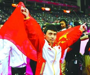 单腿跳行110米:刘翔尽力了