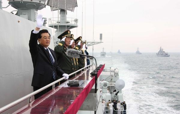军报:胡锦涛作重大判断 解放军遇到难得机遇(组图)